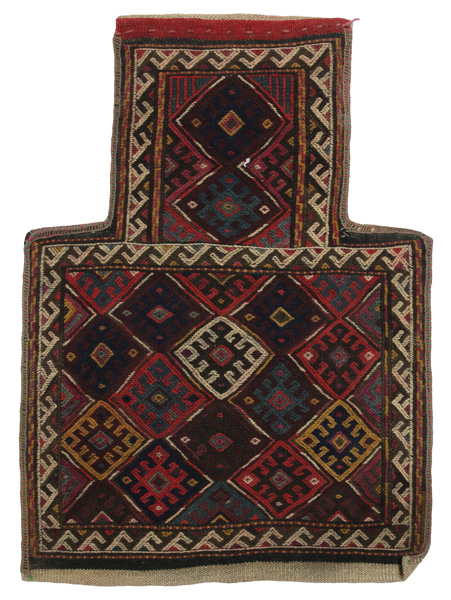 Qashqai - Saddle Bag Alfombra Persa 55x40