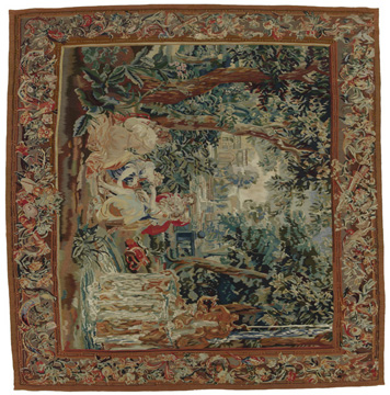 Alfombra Tapestry  201x195